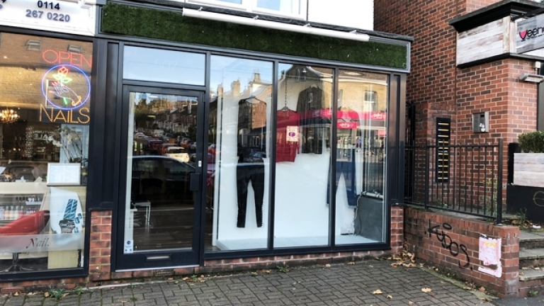 Retail Unit on Ecclesall Road To Let
