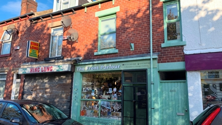 Sharrow Vale Road Property For Sale
