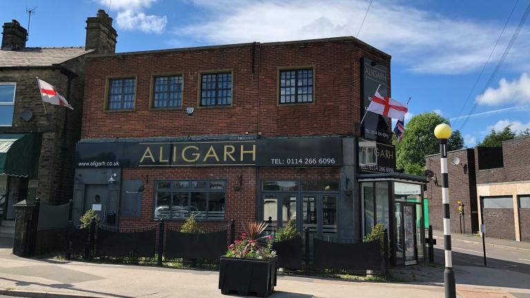 Former Aligarh Restaurant Let