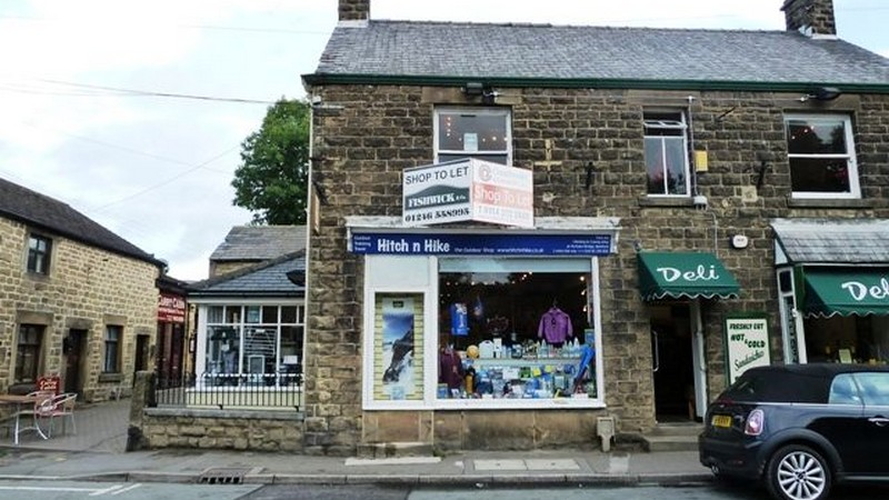 Shop to Let in Busy Peak District Tourist Location