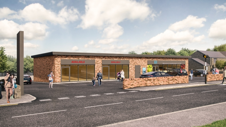 New Roadside Retail Units To Let in Oughtibridge
