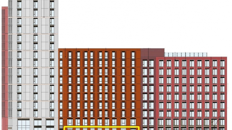 Proposed New Retail/Residential Scheme