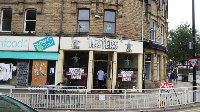 Another Ecclesall Road Shop Available to Let