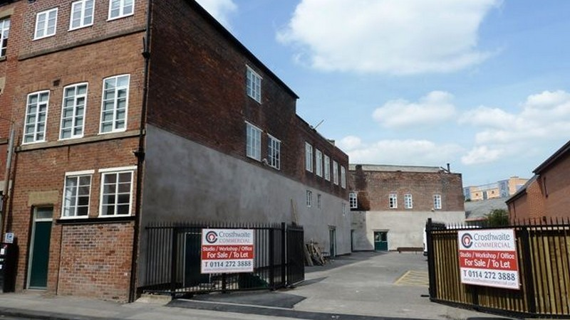 Studio Units Sold at Hawk Works in Sheffield