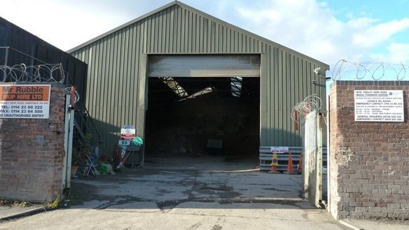 Licensed Waste Transfer Station Available To Let