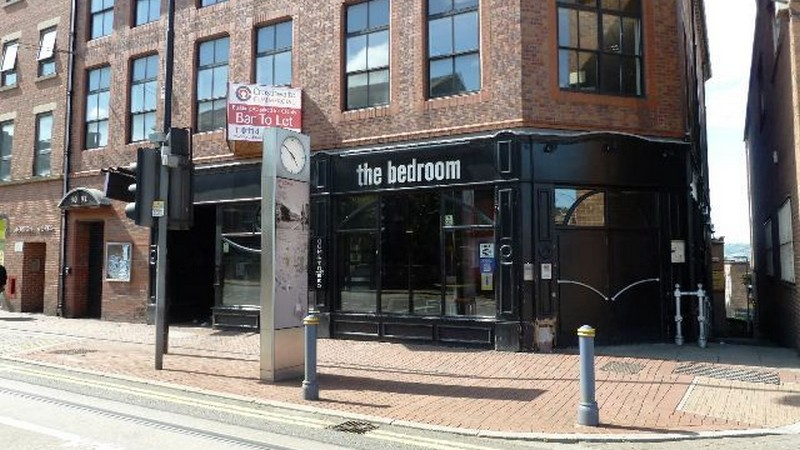 The former Bedroom Bar, formerly the Saddle, on West Street available To Let